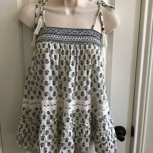 NWT Forever 21 Smocked Top